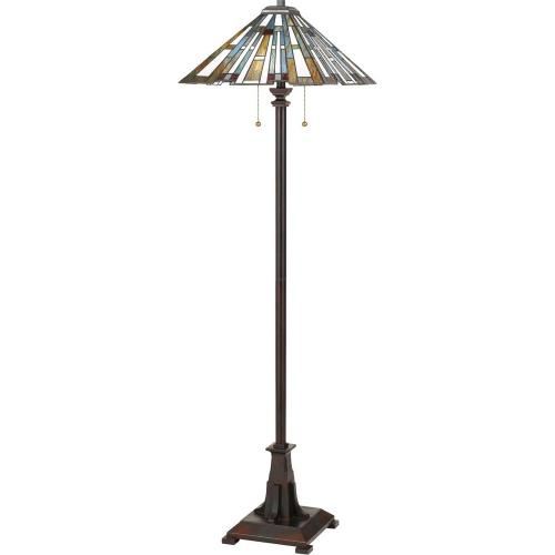 Quoizel Lighting TFMK9362VA Maybeck - 2 Light Floor Lamp - 62 Inches high