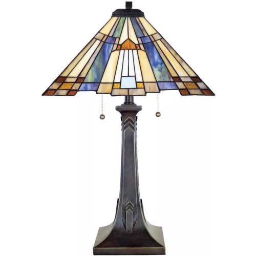 Quoizel Lighting TFT16191A1VA Inglenook - 2 Light Table Lamp