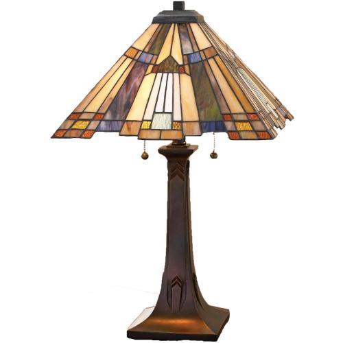 Quoizel Lighting TFT16191A1VA Inglenook - 2 Light Table Lamp - 25 Inches high