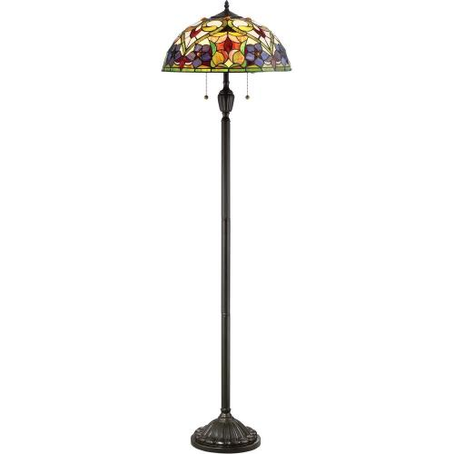 Quoizel Lighting TFVT9362VB Violets - 2 Light Floor Lamp