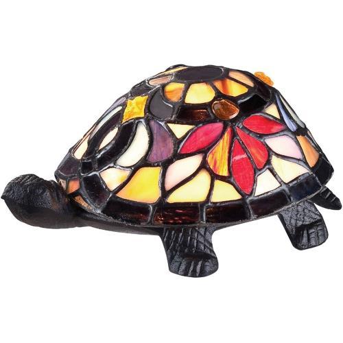 Quoizel Lighting TFX1519T Flower Turtle - 1 Light Desk Lamp