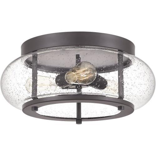 Quoizel Lighting TRG1616 Trilogy - 3 Light Flush Mount - 7 Inches high