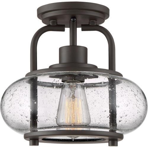 Quoizel Lighting TRG1710 Trilogy - 1 Light Semi-Flush Mount