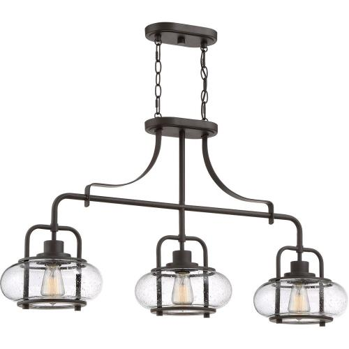 Quoizel Lighting TRG338 Trilogy - 3 Light Island - 21.55 Inches high