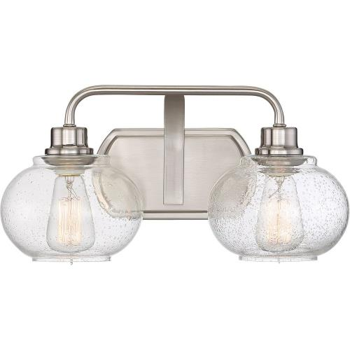 Quoizel Lighting TRG8602 Trilogy - 2 Light Medium Bath Vanity