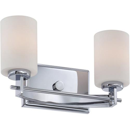 Quoizel Lighting TY8602C Taylor 2 Light Transitional Bath Vanity - 7.5 Inches high