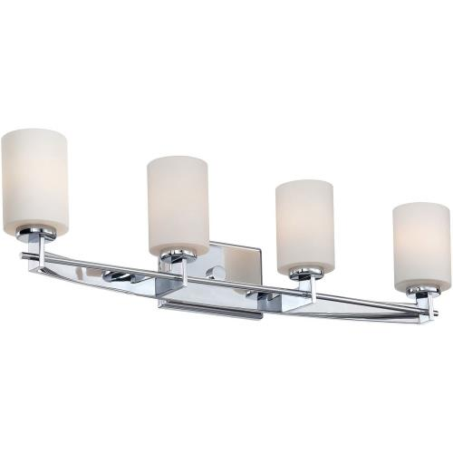 Quoizel Lighting TY8604C Taylor 4 Light Transitional Bath Vanity - 7.5 Inches high