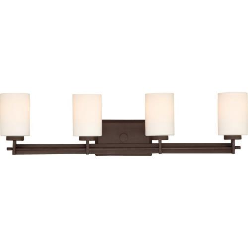 Quoizel Lighting TY8604 Taylor 4 Light Transitional Bath Vanity - 7.5 Inches high