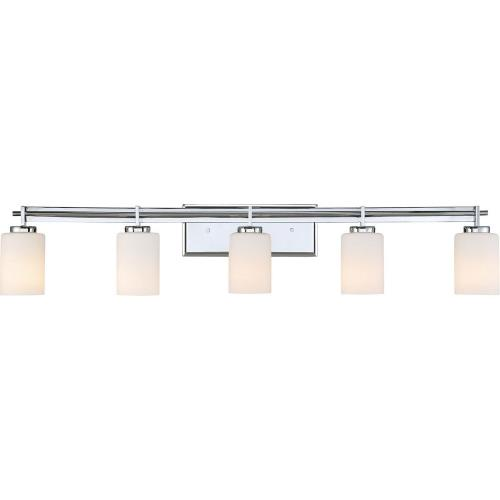 Quoizel Lighting TY8605 Taylor 5 Light Transitional Bath Vanity Approved for Damp Locations - 7.5 Inches high