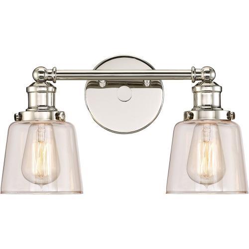 Quoizel Lighting UNI8602PK Union - 2 Light Medium Bath Vanity - 9 Inches high