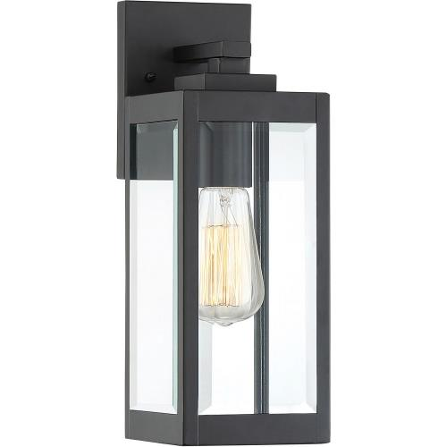 Quoizel Lighting WVR8405EK Westover 14.25 Inch Outdoor Wall Lantern Transitional Steel Approved for Wet Locations
