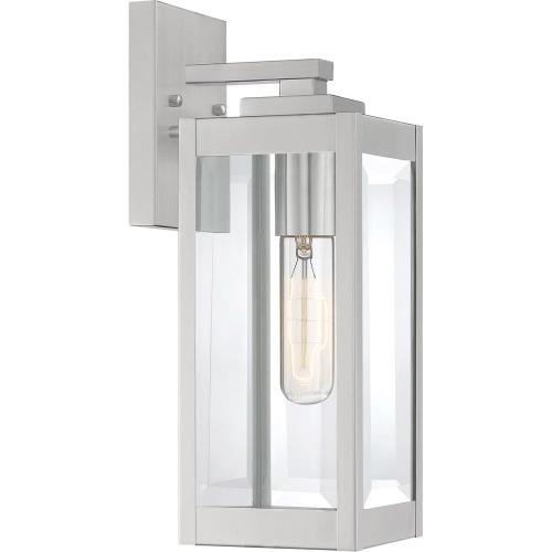 Quoizel Lighting WVR8405 Westover 14.25 Inch Outdoor Wall Lantern Transitional Steel