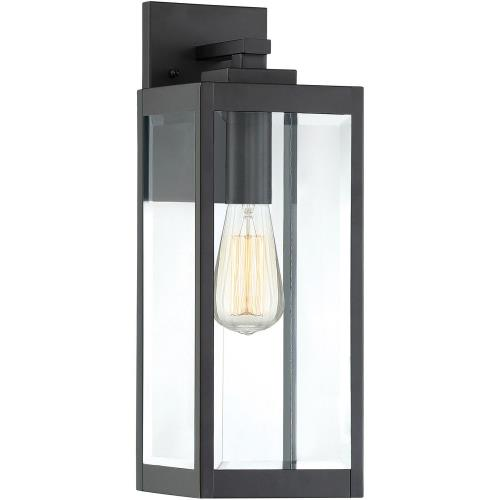 Quoizel Lighting WVR8406EK Westover 17 Inch Outdoor Wall Lantern Transitional Steel Approved for Wet Locations