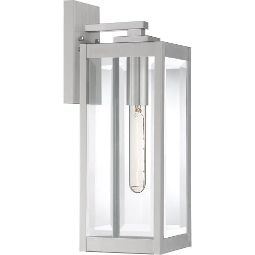 Quoizel Lighting WVR8406 Westover 17 Inch Outdoor Wall Lantern Transitional Steel