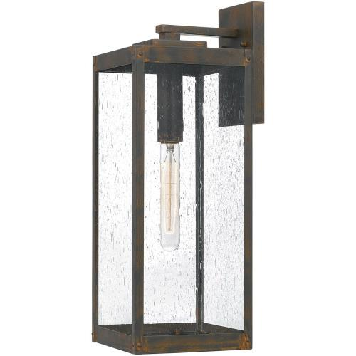 Quoizel Lighting WVR8407IZ Westover - 1 Light Large Outdoor Wall Lantern in Transitional style - 7 Inches wide by 20 Inches high