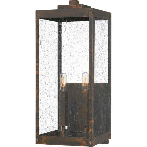 Quoizel Lighting WVR8409 Westover - 2 Light Extra Large Outdoor Wall Lantern in Transitional style - 9 Inches wide by 22.75 Inches high