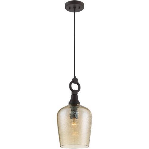 Quoizel Lighting CKKD1509WT Kendrick - 1 Light Cord Hung Mini Pendant - 18.5 Inches high