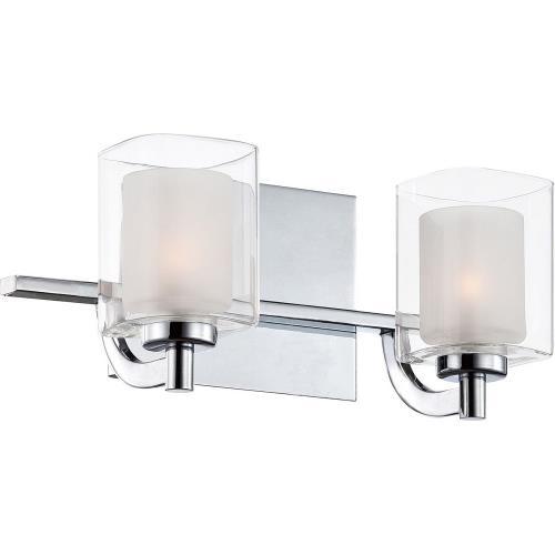 Quoizel Lighting KLT8602CLED Kolt 2 Light Transitional Medium Bath Vanity - 6 Inches high