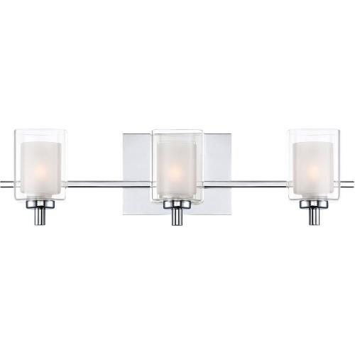Quoizel Lighting KLT8603CLED Kolt 3 Light Transitional Large Bath Vanity - 6 Inches high