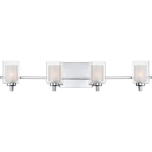 Quoizel Lighting KLT8604CLED Kolt 4 Light Transitional Extra Large Bath Vanity - 6 Inches high