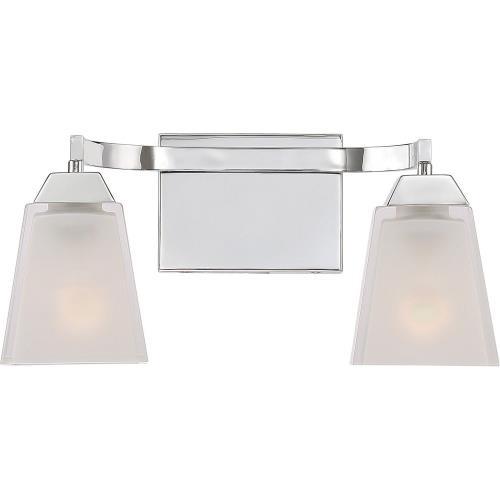 Quoizel Lighting LFT8602C Loft 2 Light Contemporary Bath Vanity - 7.5 Inches high