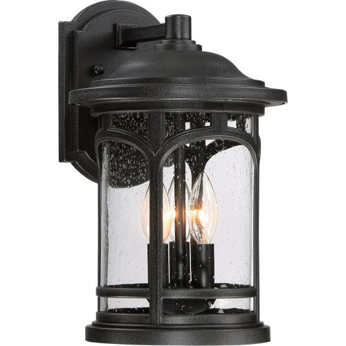 Quoizel Lighting MBH8409K Marblehead 14.5 Inch Outdoor Wall Lantern Transitional - 14.5 Inches high