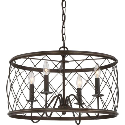 Quoizel Lighting RDY2821PN Dury - 4 Light Pendant - 14.5 Inches high
