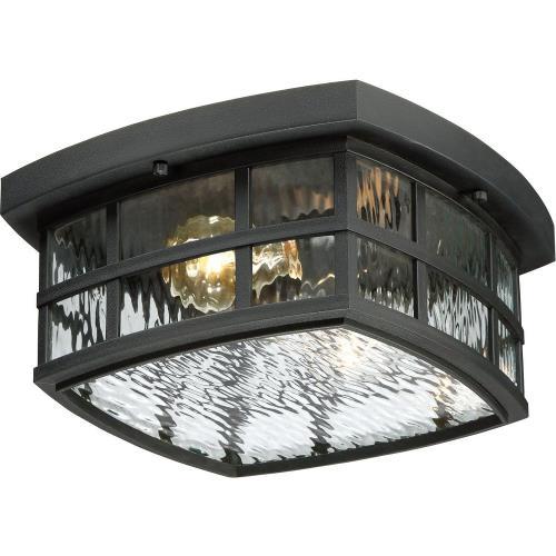Quoizel Lighting SNN1612 Stonington - 2 Light Outdoor Flush Mount - 5.75 Inches high