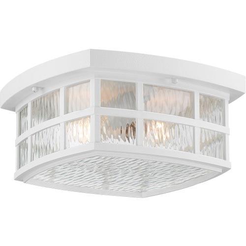 Quoizel Lighting SNN1612W Stonington - 2 Light Medium Outdoor Flush Mount - 5.75 Inches high