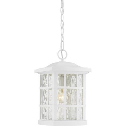 Quoizel Lighting SNN1909W Stonington - 1 Light 100W Large Outdoor Hanging Lantern - 15 Inches high
