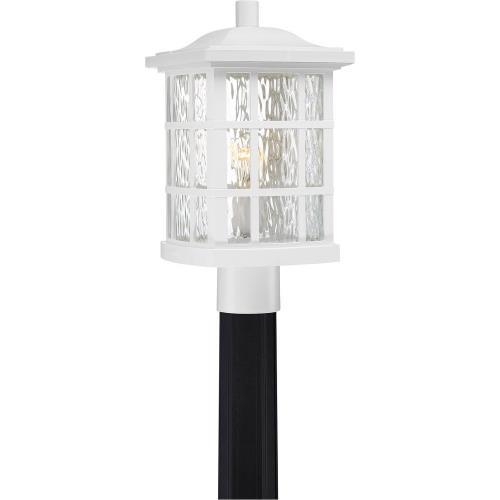 Quoizel Lighting SNN9009W Stonington - 1 Light 100W Large Outdoor Post Lantern - 16.5 Inches high