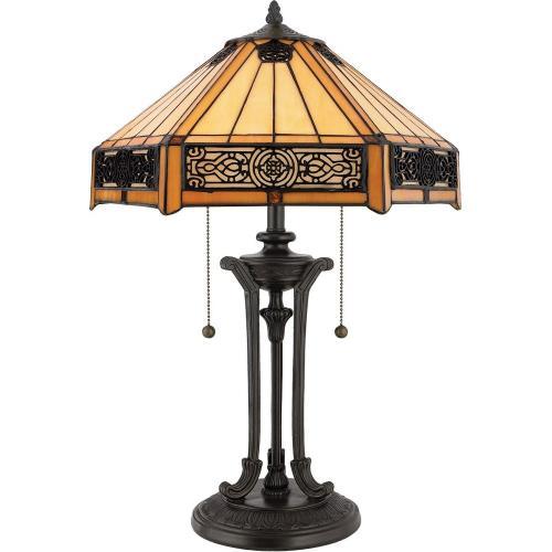 Quoizel Lighting TF6669VB Indus - 2 Light Table Lamp