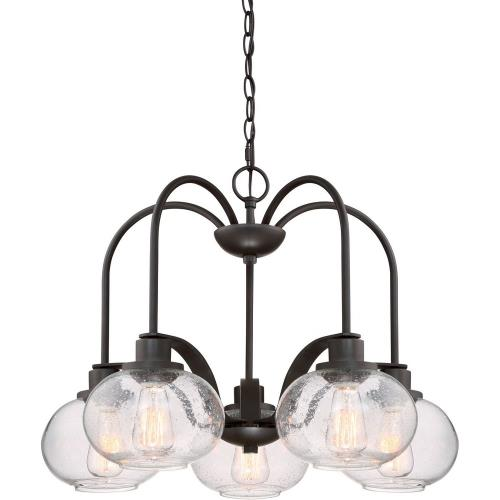 Quoizel Lighting TRG5105OZ Trilogy - 5 Light Chandelier