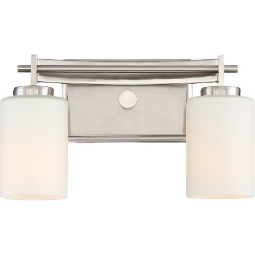 Quoizel Lighting TY8602BN Taylor 2 Light Transitional Medium Bath Vanity - 7.5 Inches high