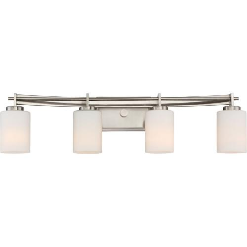 Quoizel Lighting TY8604BN Taylor 4 Light Transitional Extra Large Bath Vanity - 7.5 Inches high