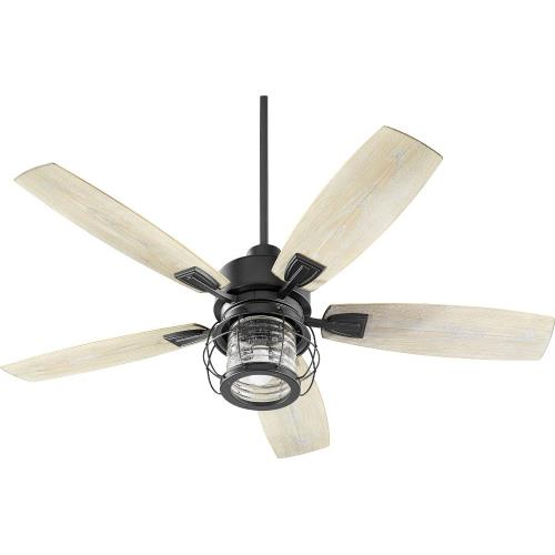 Quorum Lighting 13525 Galveston - Patio Fan in Traditional style - 52 inches wide by 18.46 inches high
