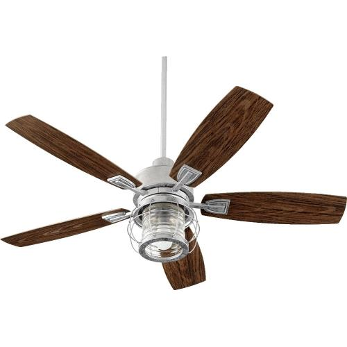 Quorum Lighting 13525-9 Galveston - 52 Inch Patio Ceiling Fan With Light Kit