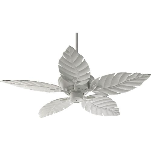 Quorum Lighting 135525 Monaco - Patio Fan in style - 52 inches wide by 16.73 inches high