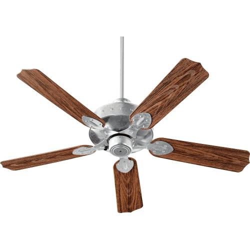 Quorum Lighting 137525 Hudson - Patio Ceiling Fan in Soft Contemporary style - 52 inches wide by 16.5 inches high