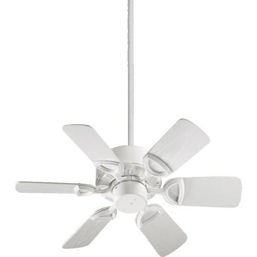 Quorum Lighting 143306 Estate - Patio Fan in Traditional style - 30 inches wide by 12.5 inches high