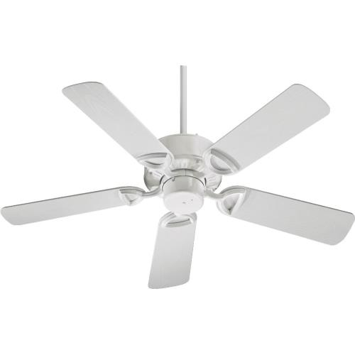 Quorum Lighting 143425 Estate - Patio Fan in Traditional style - 42 inches wide by 12.5 inches high
