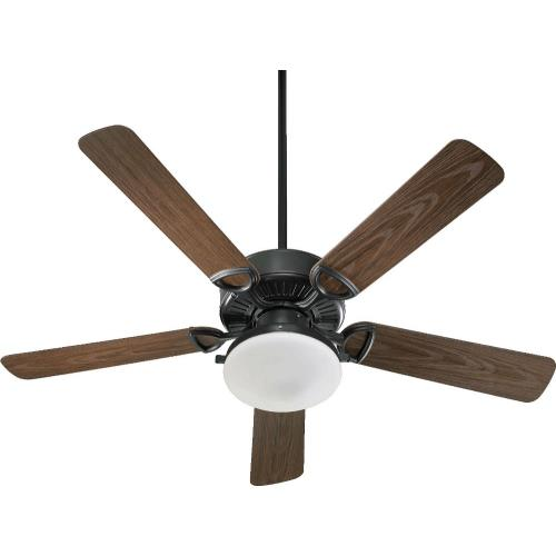 Quorum Lighting 143525LK Estate - Patio Fan in Transitional style - 52 inches wide by 19.17 inches high