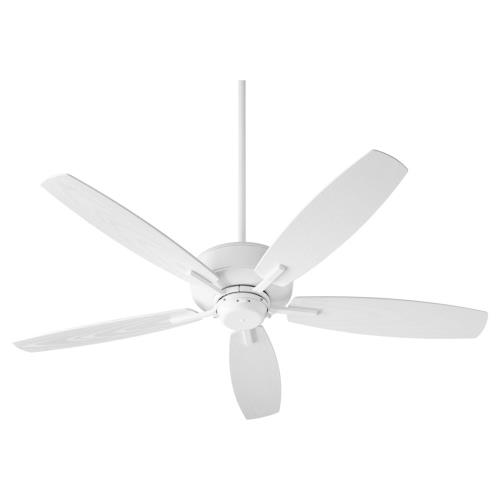 Quorum Lighting 17052 Breeze - 5 Blade Outdoor Patio Fan in Quorum Home Collection style - 52 inches wide by 12.25 inches high