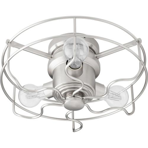Quorum Lighting 1905 Windmill - 14 Inch 18W 3 LED Cage Ceiling Fan Light Kit