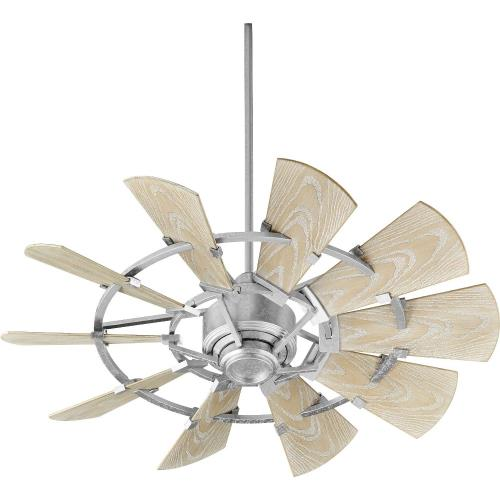 Quorum Lighting 194410 Windmill - 44 Inch Patio Fan
