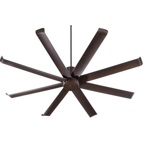 Quorum Lighting 196728 Proxima - Patio Fan in Transitional style - 72 inches wide by 18.06 inches high