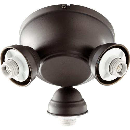 Quorum Lighting 2383 Salon - 3 Light Kit in Transitional style - 8 inches wide by 4.75 inches high