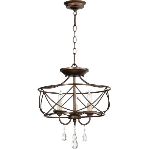 Quorum Lighting 2716-16-86 Cilia - Three Light Dual Mount Pendant