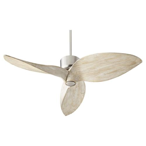 Quorum Lighting 31523 Hawkeye - 3 Blade Ceiling Fan in Contemporary style - 52 inches wide by 18.5 inches high