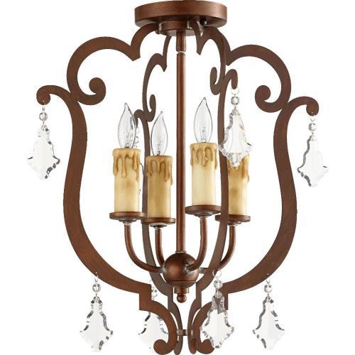 Quorum Lighting 319-4-39 Montgomery - Four Light Flush Mount